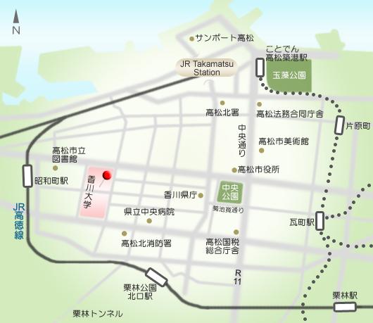 中央館地図